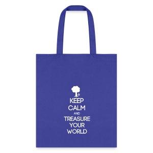ISFP ~ Keep Calm and Treasure Your World Tote Bag - Tote Bag