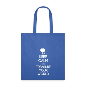 ISFP ~ Keep Calm and Treasure Your World Tote Bag - Tote Bag