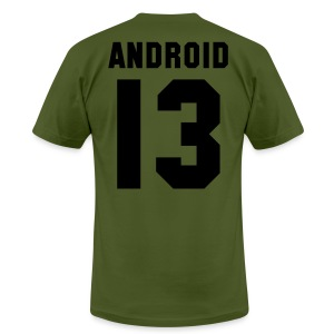 ANDROID 13 - AA T SHIRT - Men's T-Shirt by American Apparel