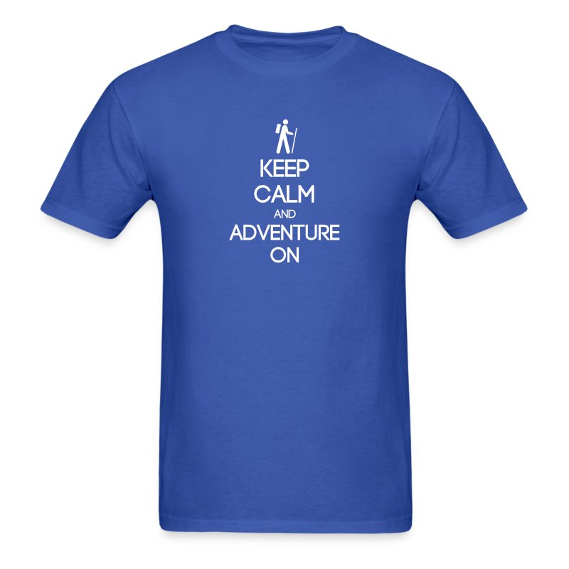 ENFP ~ Keep Calm and Adventure On T-shirt - Men's T-Shirt