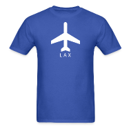 T-Shirts ~ Men's T-Shirt ~ Los Angeles - LAX