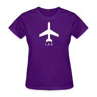T-Shirts ~ Women's T-Shirt ~ Los Angeles - LAX