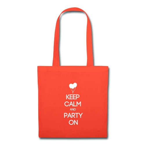 ESFP ~ Keep Calm and Party On Tote Bag - Tote Bag