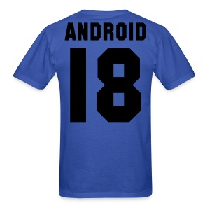 Android 18 - T SHIRT - Men's T-Shirt