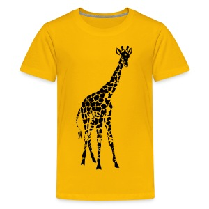 Toddler T Giraffe - Kids' Premium T-Shirt