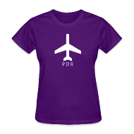T-Shirts ~ Women's T-Shirt ~ Portland - PDX