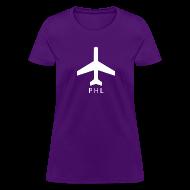 T-Shirts ~ Women's T-Shirt ~ Philadelphia - PHL