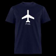 T-Shirts ~ Men's T-Shirt ~ Philadelphia - PHL