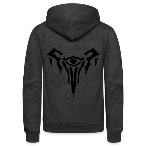 League of Legends Hoodie with Frostguard Emblem - Unisex Fleece Zip Hoodie