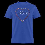 T-Shirts ~ Men's T-Shirt ~ I Ship It - Pixel Characters Heart Men's Tee