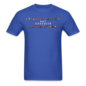 I Ship It - Pixel Characters Lines Men's Tee - Men's T-Shirt