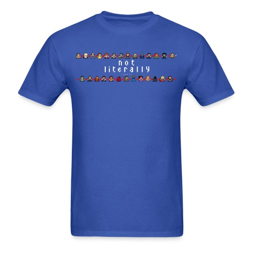 I Ship It - Pixel Characters Lines Men's Tee - Men's T-Shirt