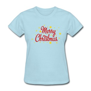 Women's T Merry Christmas - Women's T-Shirt