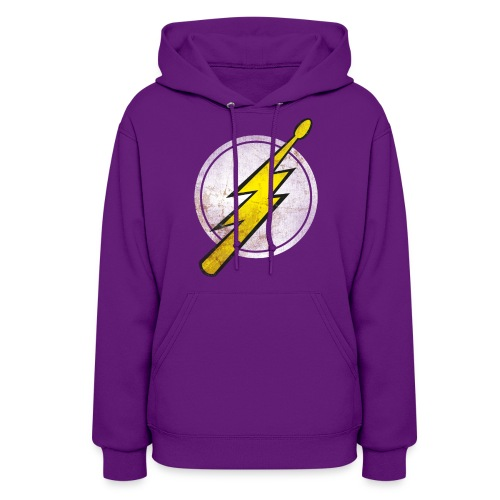 Flash Drummer - Girlz - Women's Hoodie