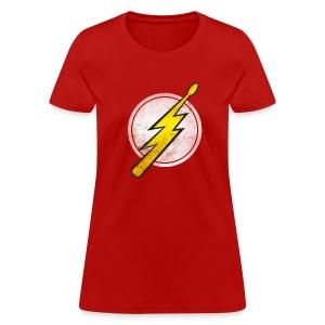 Flash Drummer - Girlz - Women's T-Shirt