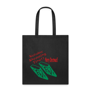 Holiday Shopping Merry Christmas - Tote Bag