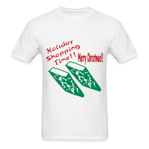 Holiday Shopping Merry Christmas - Men's T-Shirt