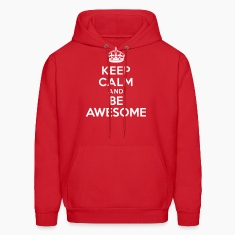 Keep calm and be awesome Hoodies