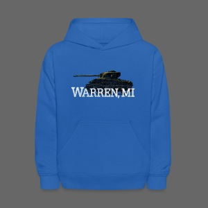 Warren, Michigan - Kids' Hoodie