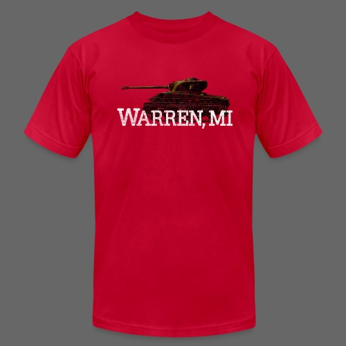 Warren, Michigan - Men's Fine Jersey T-Shirt