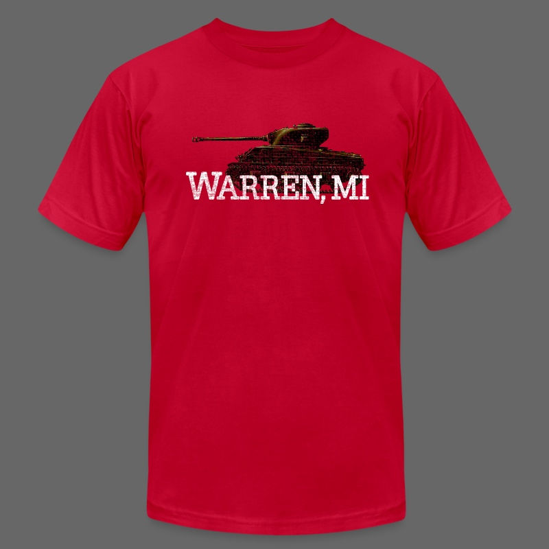 Warren, Michigan - Men's T-Shirt by American Apparel