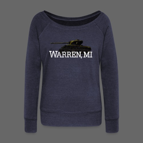 Warren, Michigan - Women's Wideneck Sweatshirt
