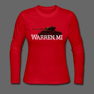 Warren, Michigan - Women's Long Sleeve Jersey T-Shirt
