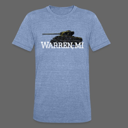 Warren, Michigan - Unisex Tri-Blend T-Shirt by American Apparel