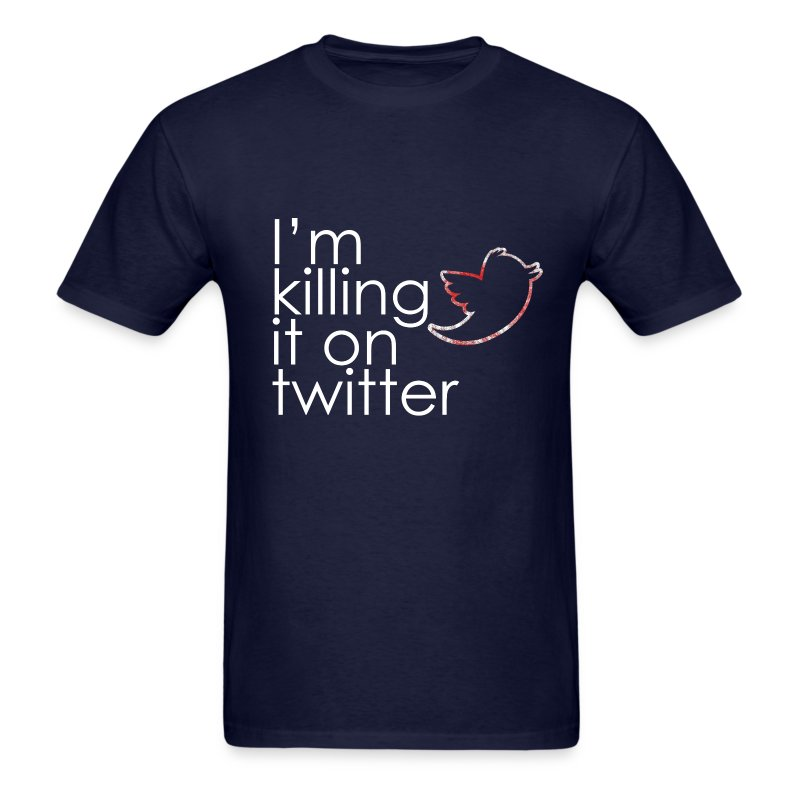 Killing Twitter - Men's T-Shirt