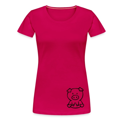 little piggie - Women's Premium T-Shirt