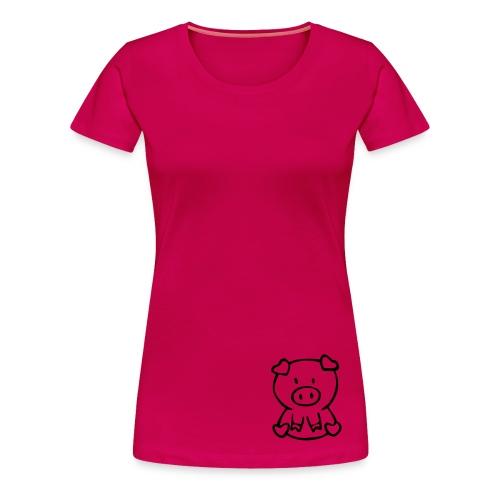 little piggie - Women's Premium T-Shirt