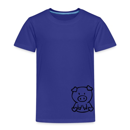 little piggie - Toddler Premium T-Shirt
