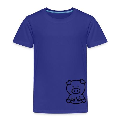 little piggie - Toddler Premium T-Shirt