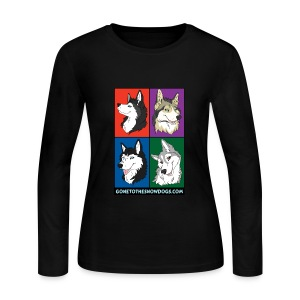 The Pack - Women's Long Sleeve Jersey - Women's Long Sleeve Jersey T-Shirt