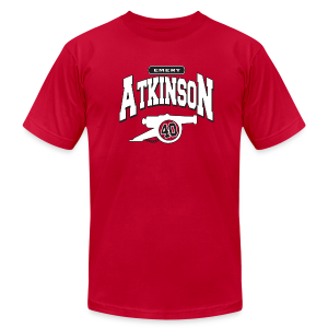 Emery Atkinson Cannon - Men's T-Shirt by American Apparel