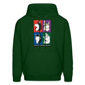 The Pack - Men's Hooded Sweatshirt - Men's Hoodie