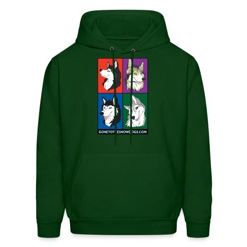 The Pack - Men's Hooded Sweatshirt - Men's Hoodie