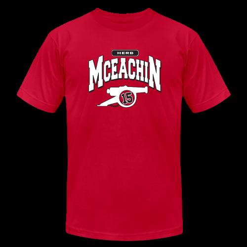 Herb McEachin Cannon - Men's  Jersey T-Shirt
