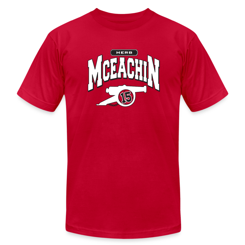 Herb McEachin Cannon - Men's T-Shirt by American Apparel