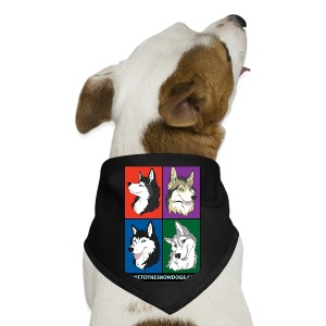 The Pack - Dog Bandana - Dog Bandana