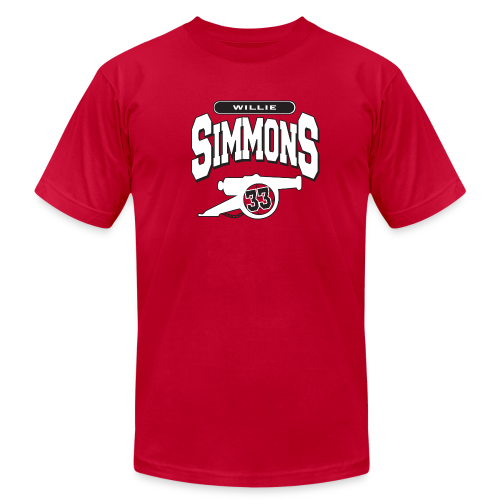 Willie Simmons Cannon - Men's Fine Jersey T-Shirt