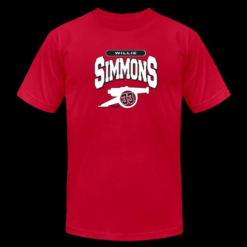 Willie Simmons Cannon - Men's Fine Jersey T-Shirt