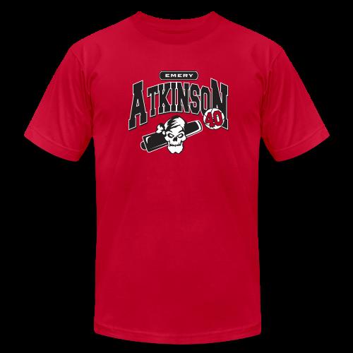 Emery Atkinson logo - Men's  Jersey T-Shirt