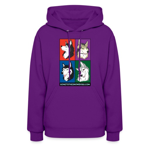 The Pack - Women's Hooded Sweatshirt - Women's Hoodie