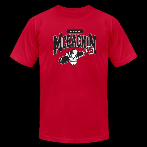 Herb McEachin logo - Men's  Jersey T-Shirt