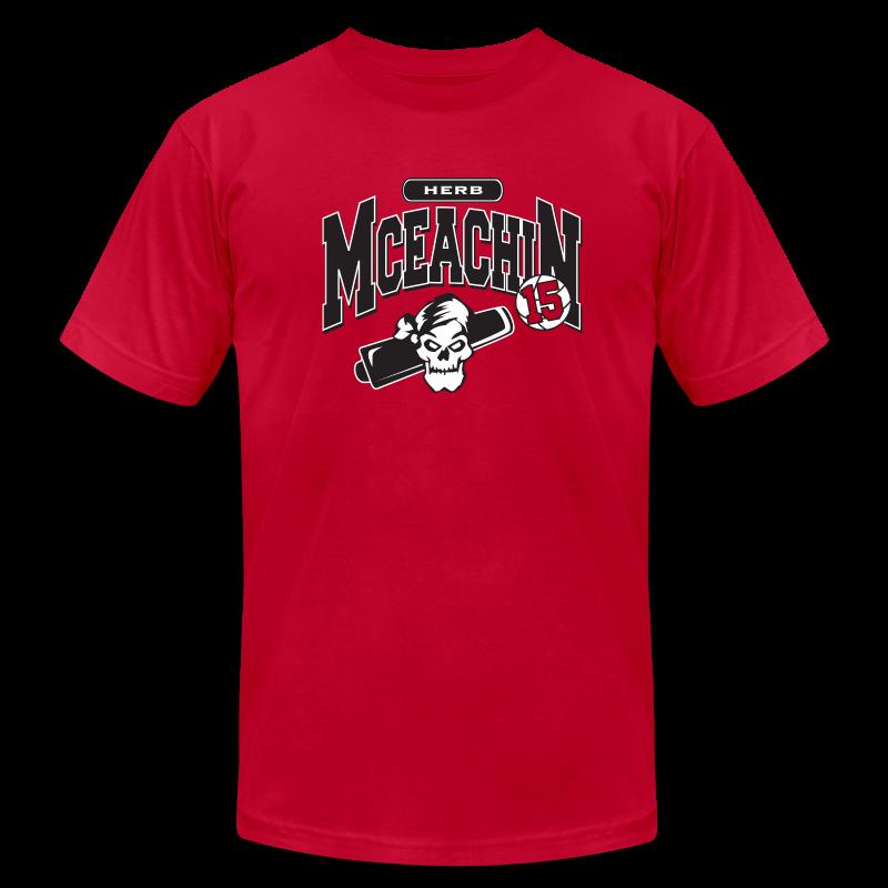 Herb McEachin logo - Men's Fine Jersey T-Shirt