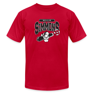 Willie Simmons logo - Men's T-Shirt by American Apparel