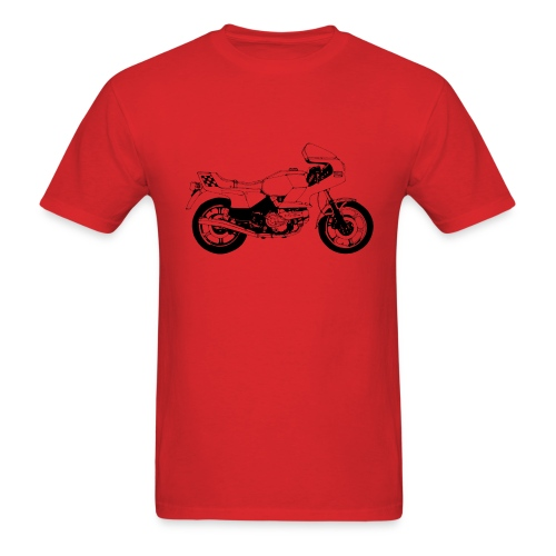Vintage Motorcycle Shirt - Italian Stallion - Men's T-Shirt
