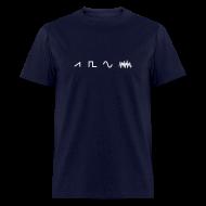 T-Shirts ~ Men's T-Shirt ~ Waveforms