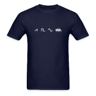 T-Shirts ~ Men's T-Shirt ~ Waveforms